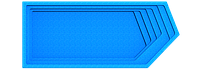 "Композитный бассейн ""Олимпик"" (длина: 8,4 м, ширина:3,6 м, глубина1,55 м), фото 1"