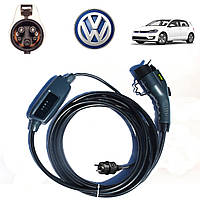 Зарядное устройство для электромобиля Volkswagen e-GOLF Duosida J1772-16A
