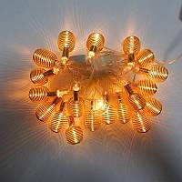 Гирлянда Пружина Золото LED 20 (1-117)
