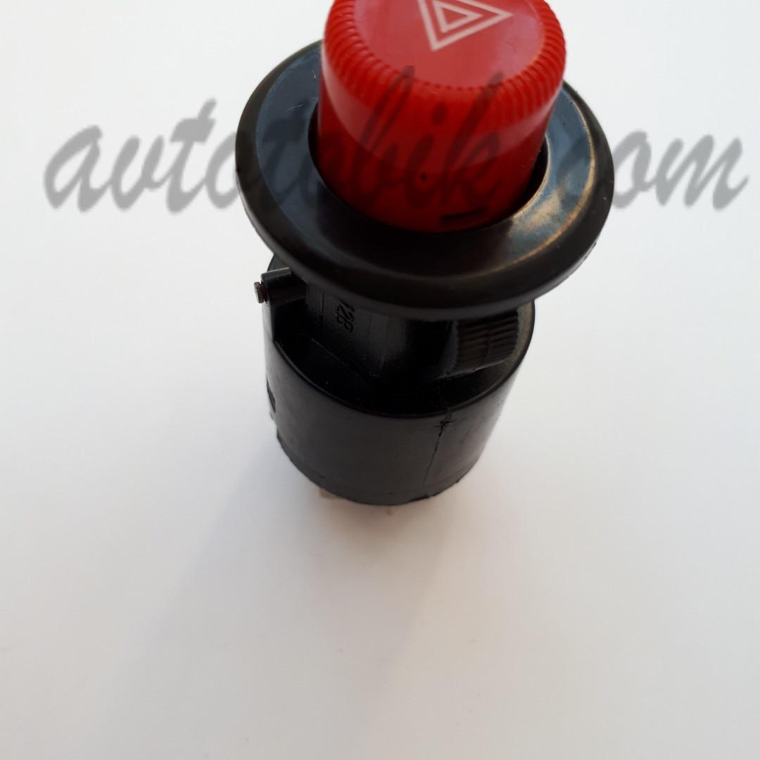 Кнопка аварийной сигнализации 6-ти контактная ВАЗ 2101-07 (Россия, Авар)