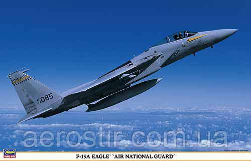 F-15A EAGLE AIR NATIONAL GUARD 1/48  Hasegawa 09808