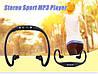 MP3 спорт плеер + наушники + FM радио + USB кабель, фото 4