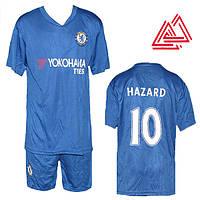 """Футбольная форма для детей Челси """"Хазард"""" HC1806"""