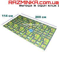 Детский коврик дорога 200х114см, толщина 8мм, фото 1