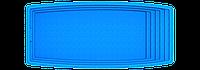 "Композитный бассейн ""Парус"" (длина: 7,6 м, ширина:3,5 м, глубина:1,5 м), фото 1"