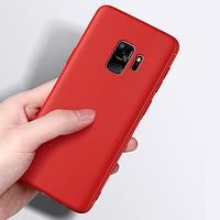 Silicone Case для Samsung S9 Red