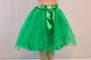 Нарядная пышная детская юбка-пачка для девочек 6-8 лет.