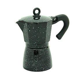 Кофеварка гейзерная Мокко-блэк на 6 персон