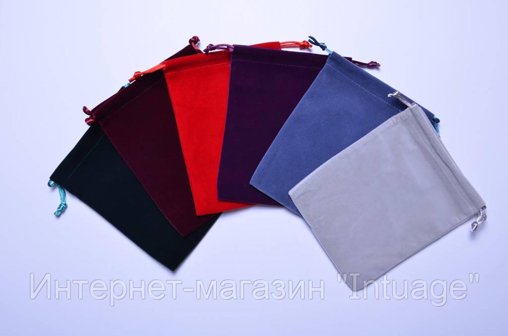 Подарочный мешочек из велюра размер 12*16 см