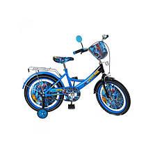 """Детский двухколесный велосипед 20"""" Спайдермен"""