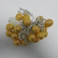 Гирлянда Сфера Золото LED 20 мульти, фото 1