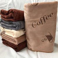 Полотенце рушник Кофе, 75*35 см