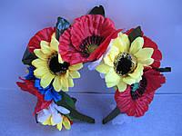 """Українский віночок """"Сонячні квіти"""""""