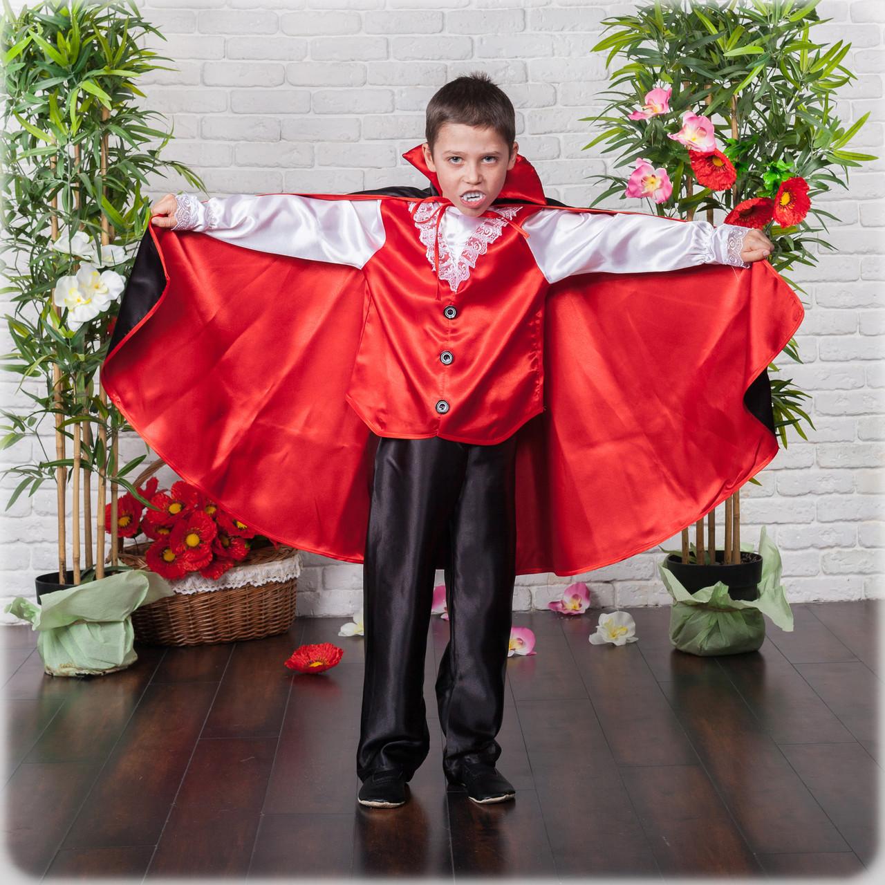 Детский маскарадный костюм вампира\чертика