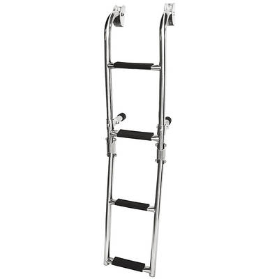 Лестница складная 103см, нержавеющая сталь