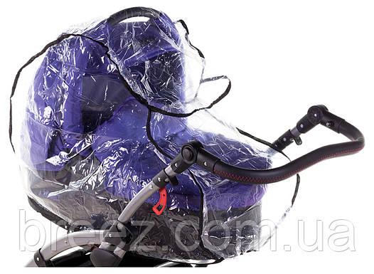 Дождевик для коляски Qvatro DQB-2 силикон, фото 2