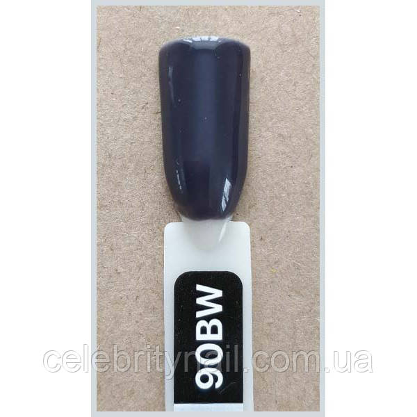 Гель лак Kodi № 90 bw  Тёмный серый