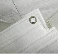 Тент белый, полипропилен, 200 г/кв.м, 12*20