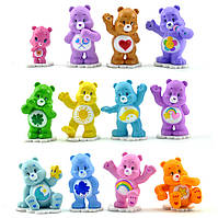 Игрушки Заботливые мишки ( Care Bears ), 12 шт
