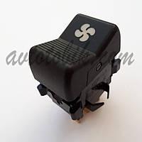 Кнопка включения вентилятора отопителя с подсветкой символа ВАЗ 2107, 2121, фото 1