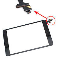 Сенсорный экран для планшета Apple iPad mini c кнопкой Home blask