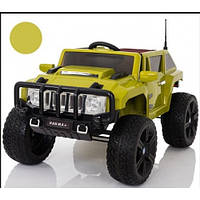 Детский электромобиль Джип Hummer M 3570 EBLR-10 зеленый