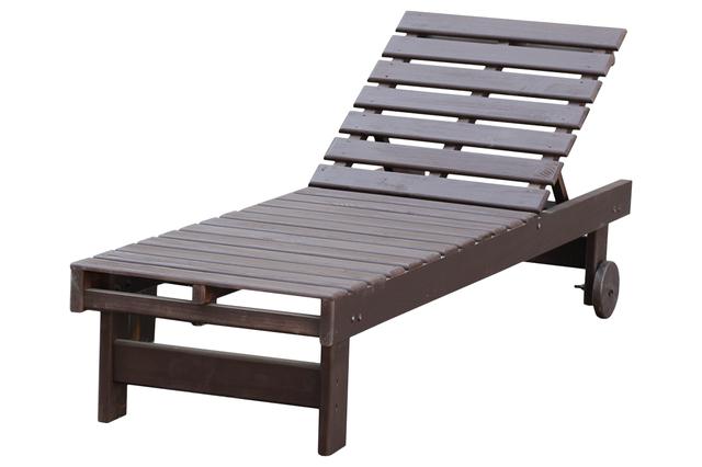 лежак деревянный крашенный