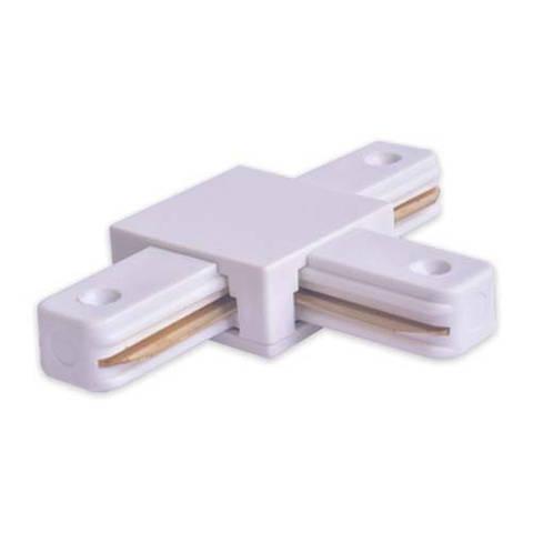 Коннектор Т-образный LD1003 Белый/Черный