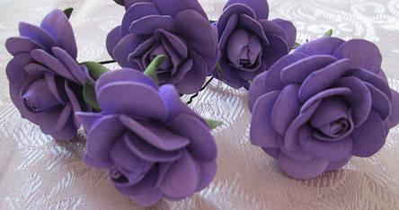 Фоамиран 3мм - листовой (1000*1500мм) фиолетовый, фото 2