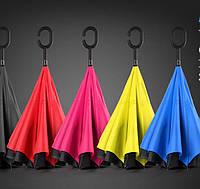 Обратный ветрозащитный зонт UP-Brella
