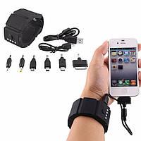 Силиконовый зарядный браслет  Power Bank для iPhone4/6/7 PSP samsung HTC