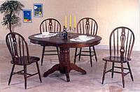 Комплект: Стол 4260 SBP +4стула 221с темная вишня