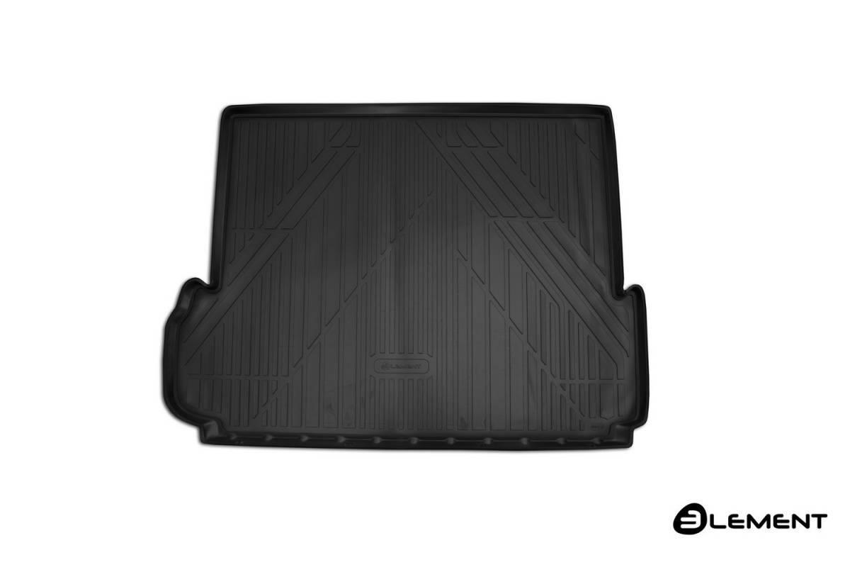 Коврик в багажник для Toyota Land Cruiser Prado 150 2013-> внед. 7 мест длин. 1 шт. (полиуретан) CARTYT00020
