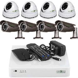 Комплект видеонаблюдения Green Vision
