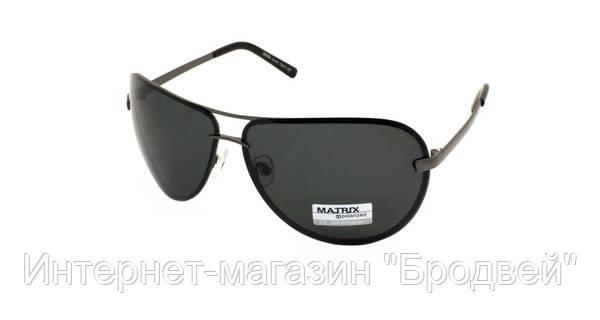 93cc1a0f68e5 Солнечные Очки Мужские Черные Авиаторы Matrix Polaroid — в Категории
