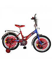 """Двоколісний велосипед Tilly Спайдермен 18"""""""