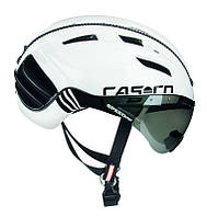 Велошолом Casco SPEEDser-TC plus white-black