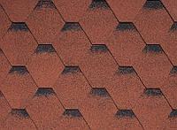 Битумная черепица, IKO,  ArmourShield, цвет 10 Tile Red Ultra