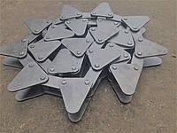 Цепь ПЗС-8 03.030 (шаг.38.0) на жатку для уборки подсолнечника
