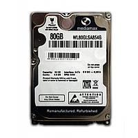 "Жесткий диск (HDD) 2.5"" 80 GB Mediamax (WL80GLSA854G)"