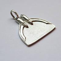 Сувенир моноласта Silver Souvenir monofin