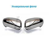Хром накладки на зеркала (нерж) Volkswagen passat b5 (фольксваген пассат б5) 1996-2005, фото 2
