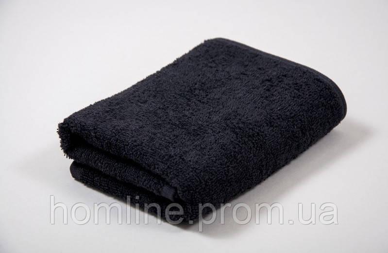 Полотенце Lotus черное 30*50