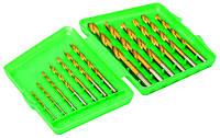 Набор сверл для металла HSS, TIN 1,5-6,5 мм, 13 шт. Mastertool 11-1305