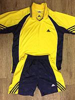 """Форма футбольная Adidas """"Polo"""" желтая с сними вставками M"""