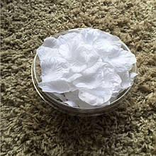 Белые лепестки роз 200шт.