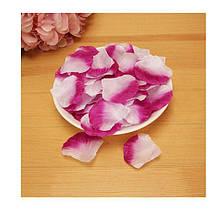 Двухцветные лепестки роз 100шт.