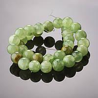 Бусины натуральный камень на нитке Оникс d-8-9мм L-37-40см