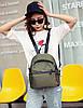 Модный портфель для девушек зеленый, фото 2