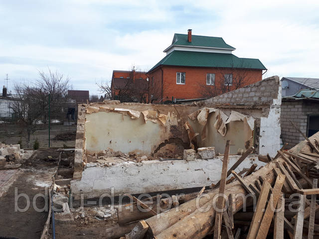 Демонтаж и вывоз бетона в Днепропетровске